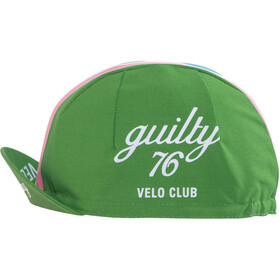 guilty 76 racing Velo Club Race Casquette, green